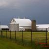 Farm Buildings - US 150 - Congerville Illinois - May 15 2009 - 2