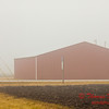 # 5 - Farm building in Central Illinois on a foggy afternoon