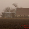 # 8 - Farm buildings in Central Illinois on a foggy afternoon