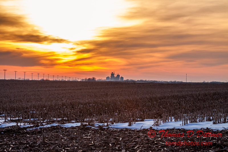 # 17 - Late afternoon in Eastern Rural McLean County Illinois