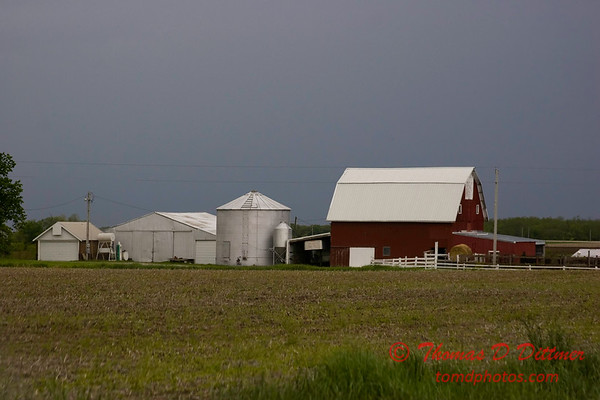 N 950 E and Brown Road - Woodford County - Illinois - May 15 2009 - 1