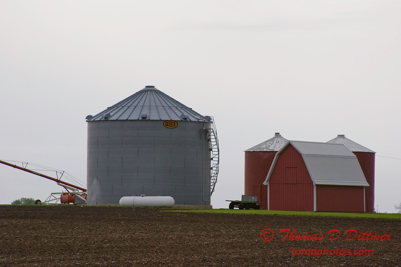 N 1200 E Road - Woodford County - Illinois - May 15 2009 - 2