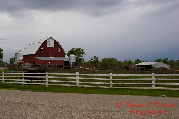 N 950 E and Brown Road - Woodford County - Illinois - May 15 2009 - 5