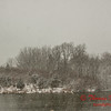 # 13 - Snow falling at Evergreen Lake Hudson Illinois