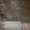 # 18 - Snow falling at Evergreen Lake Hudson Illinois