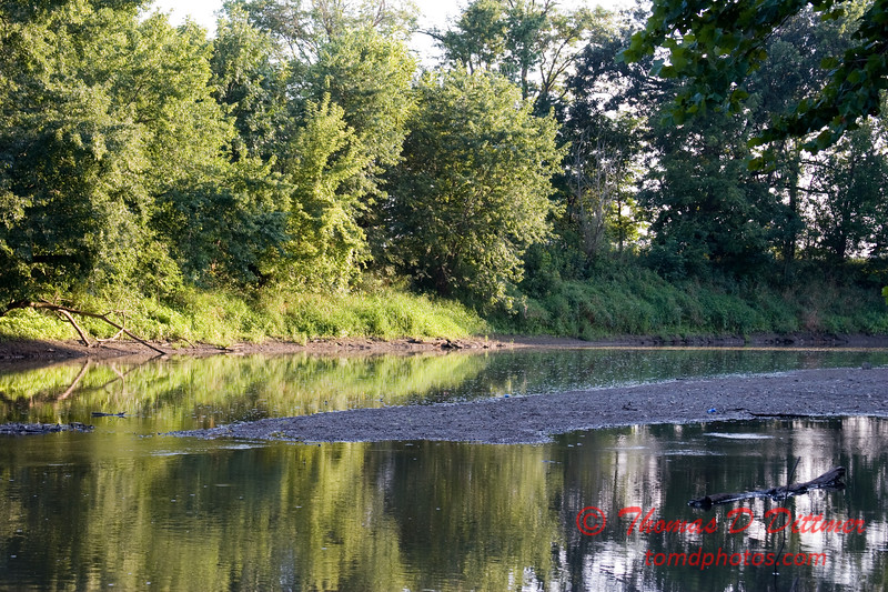 2007 Mackinaw River near Goodfield IL in early August - 15
