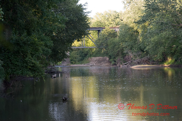 2007 Mackinaw River near Goodfield IL in early August - 3