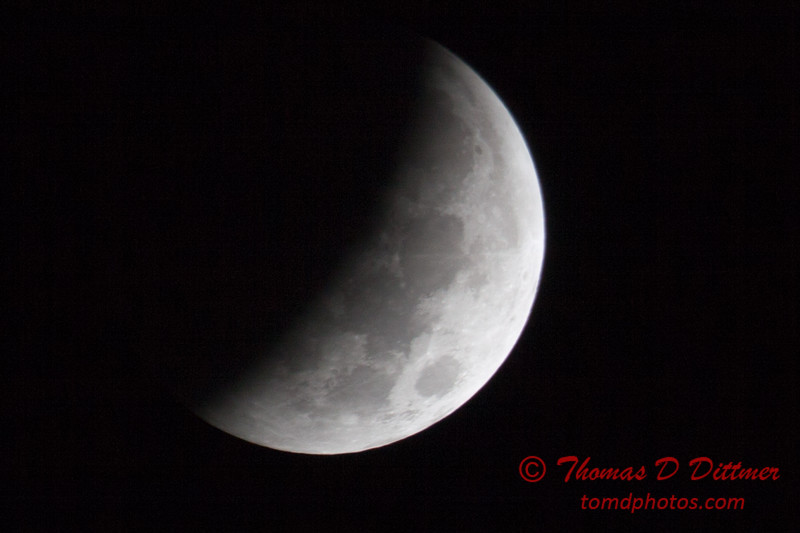 Lunar Eclipse - Bloomington Illinois