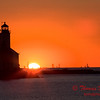 Sunset - Washington Park - Michigan City Indiana - #3