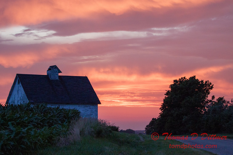 Sunset in Rural McLean County