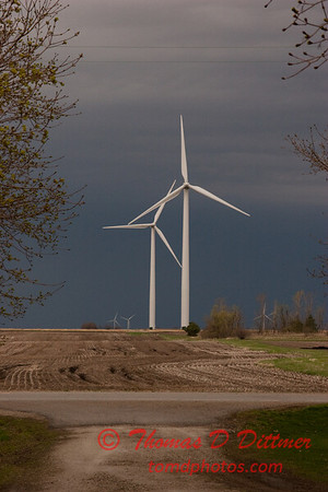 2010 - Wind Mill Farm North of Streator Illinois - April 4th - 1