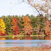 8 - 2014 Autumn colors on display at Evergreen Lake - Hudson Illinois