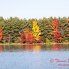 21 - 2014 Autumn colors on display at Evergreen Lake - Hudson Illinois