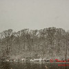 # 11 - Snow falling at Evergreen Lake Hudson Illinois