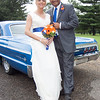 The wedding day of Trudi and Chris
