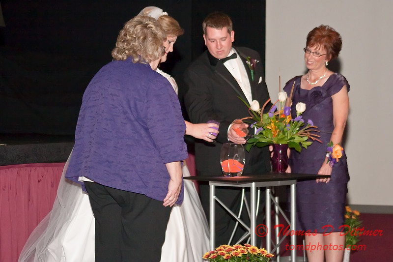 2011 - 11/5 -  The wedding of Stephanie and Matthew at Vale Community Church in Bloomington Illinois -  216