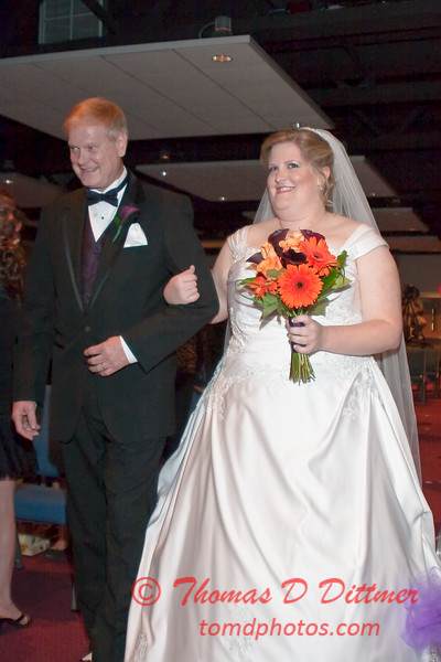 2011 - 11/5 -  The wedding of Stephanie and Matthew at Vale Community Church in Bloomington Illinois -  191