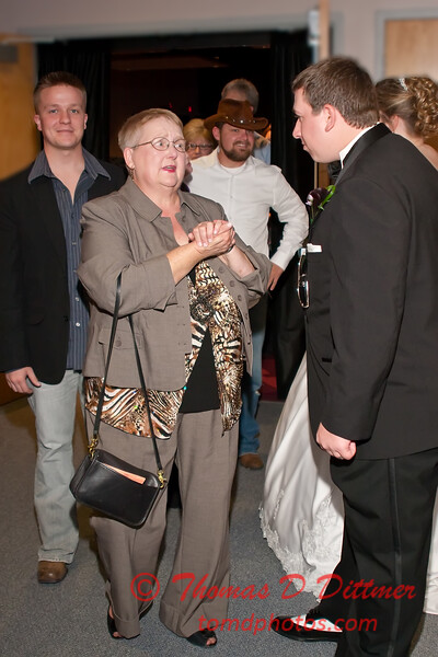 2011 - 11/5 -  The wedding of Stephanie and Matthew at Vale Community Church in Bloomington Illinois -  383