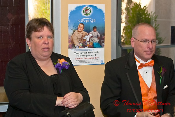 2011 - 11/5 -  The wedding of Stephanie and Matthew at Vale Community Church in Bloomington Illinois -  10