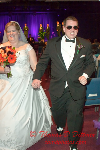 2011 - 11/5 -  The wedding of Stephanie and Matthew at Vale Community Church in Bloomington Illinois -  245