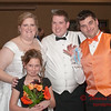2011 - 11/5 -  The wedding reception of Stephanie and Matthew at Hawthorn Suites by Wyndam in Bloomington Illinois -  719