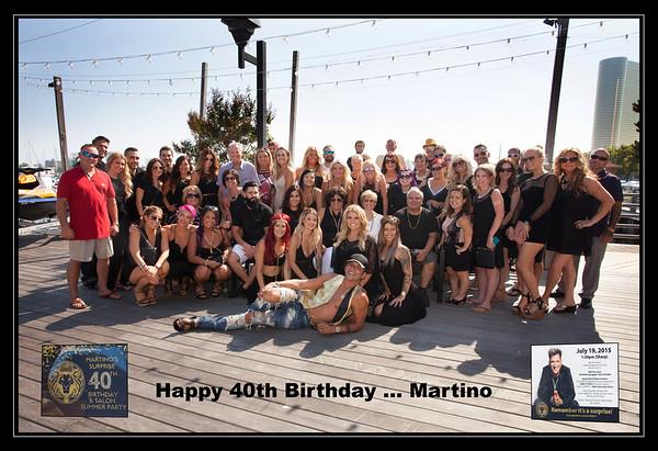 Martino's 40th Birthday Party