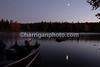 Lake Umbagog moonrise