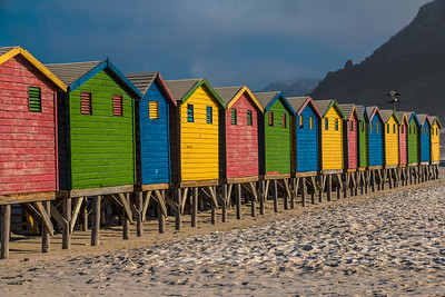 The colors of Muizenberg