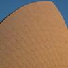 Close up of the Sydney Opera House