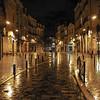 Bordeaux night scene