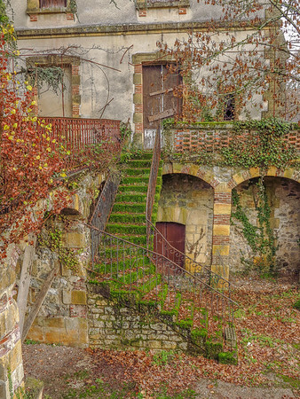 Abandoned building in France