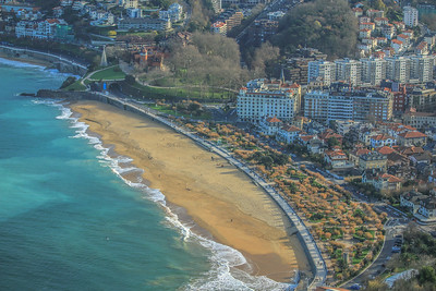 San Sebastian beachfront