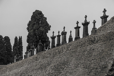 Cemetary at Carcassonne