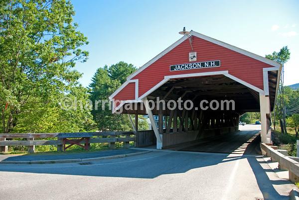 Jackson Covered Bridge - summer