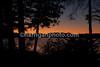 sunset on lake umbagog