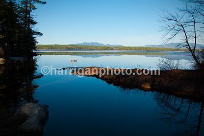 Spring on Conway Lake, NH
