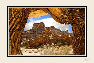 """""""Desert Depth""""   12 x 18"""
