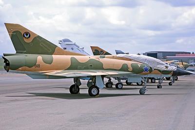 818 Mirage IIIBZ SAAF 2Sq
