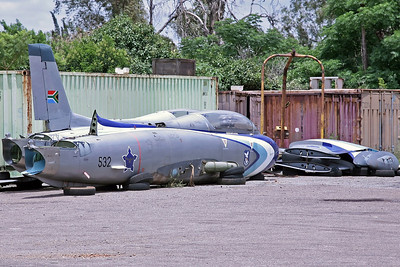 532 Impala Mk.1 SAAF Silver Falcons (Storage Compound)