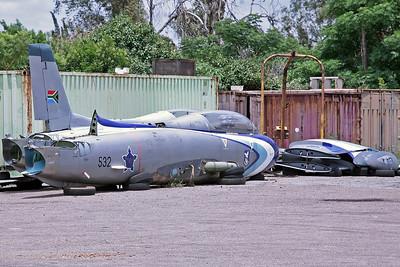 532 Impala Mk.1 SAAF Silver Falcons (Storage Compound)