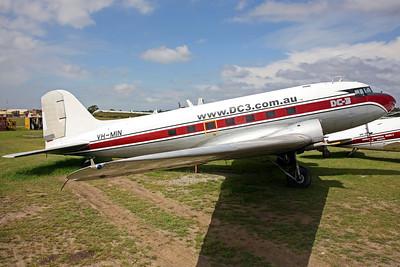 VH-MIN C-47A Discovery Air Tours/Dakota National Air