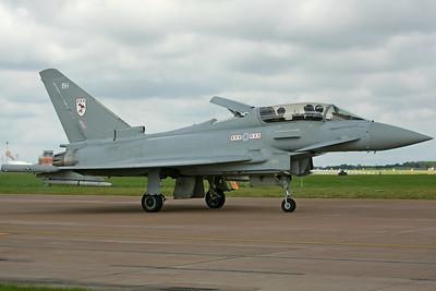 ZJ809/BH Typhoon F2 RAF 29(R)Sq