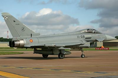 C.16-28/11-08 Typhoon Spanish AF Esc113/Ala11
