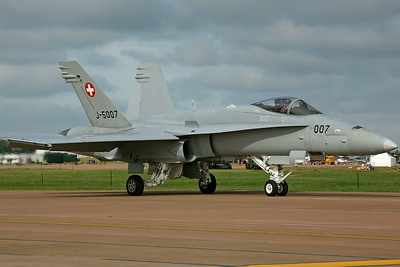 J-5007 F/A-18C Swiss AF 18FS