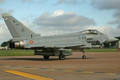 C.16-29/11-09 Typhoon Spanish AF Esc113/Ala11