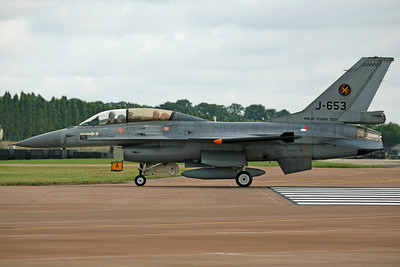 J-653 F-16BM KLU 306Sq/RNLAF Flight Test