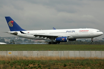 SU-GCE A330-200 Egypt Air