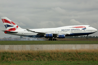 G-CIVE B747-400 British Airways