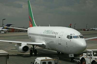9J-JOY B737-200 Zambian Airways