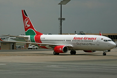 5Y-KYB B737-800 Kenya Airways